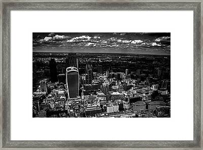 London Town Framed Print by Martin Newman