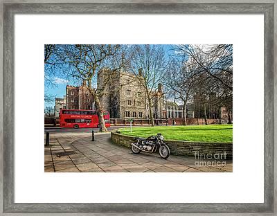 London Transport Framed Print