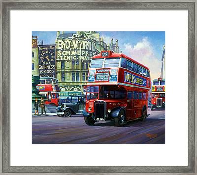 London Transport Rt1. Framed Print