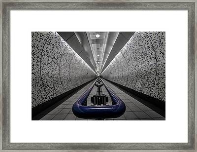 London Underground Framed Print