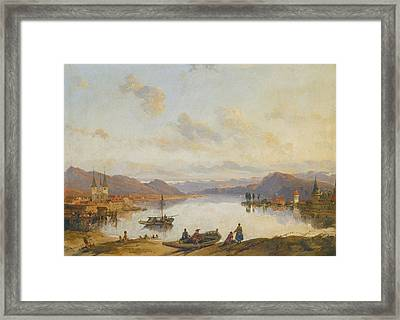 London View Of Lucerne Switzerland Framed Print