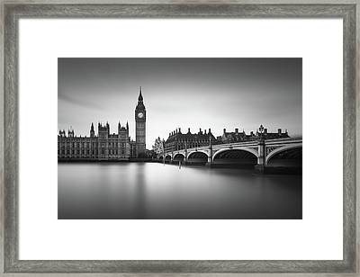 London, Westminster Bridge Framed Print by Ivo Kerssemakers