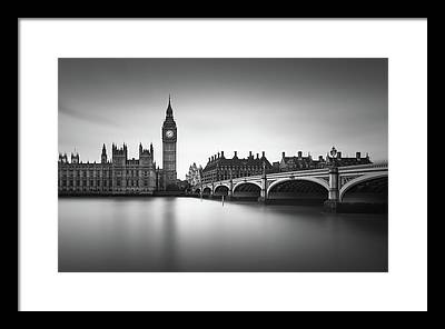 House Of Parliament Framed Prints