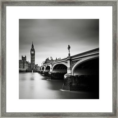 London Westminster Framed Print by Nina Papiorek