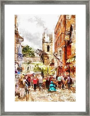 London - Windsor Street Framed Print