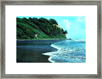 Londonderry Bay Framed Print by Thomas R Fletcher