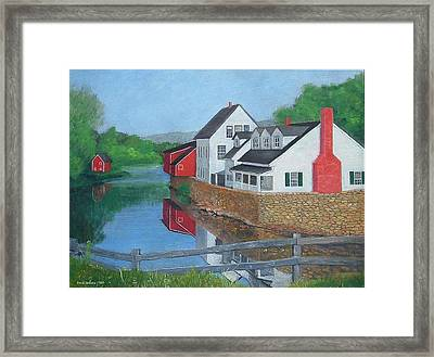 Londonderry Vermont Framed Print