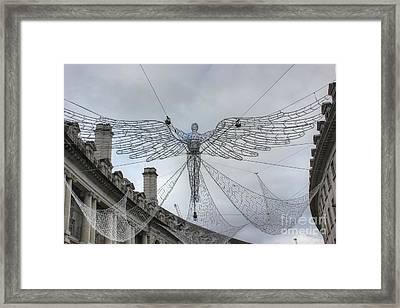 London's Angel Framed Print