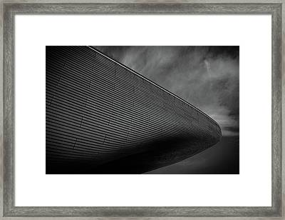London Olympic Aquatic Centre Framed Print by Martin Newman