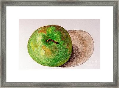 Lone Apple Framed Print