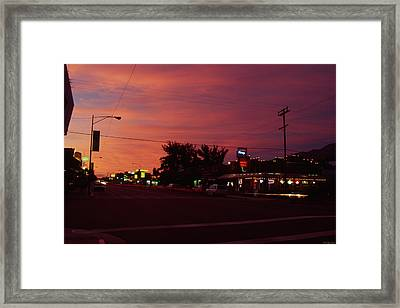Lone Pine California Framed Print by Soli Deo Gloria Wilderness And Wildlife Photography