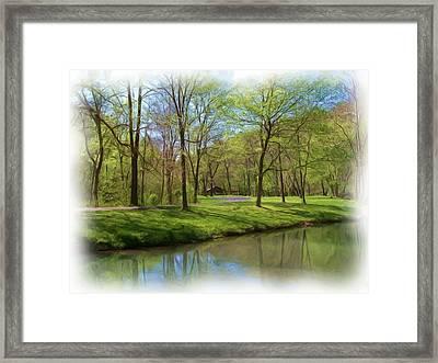 Lone Pine Crossing2 Framed Print