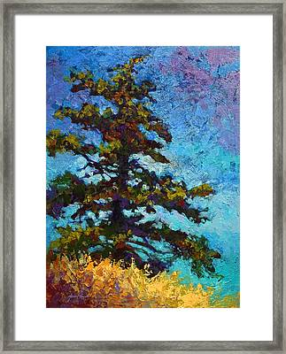 Lone Pine II Framed Print by Marion Rose