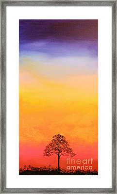 Lone Pine Framed Print by Michele Hollister - for Nancy Asbell