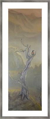 Lone Sentinel Framed Print by Dan Bozich
