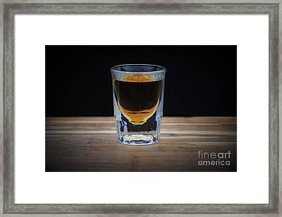 Lone Shot  Framed Print