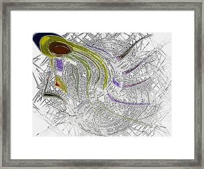lone Sperm Framed Print by Patrick Guidato