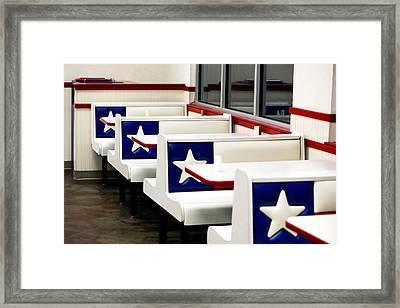 Lone Star Dairy Queen Framed Print