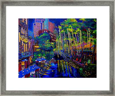 Lone Star Evening Framed Print by Patti Schermerhorn
