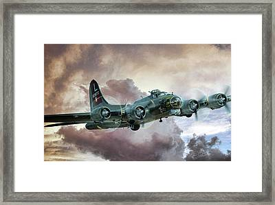 Lone Star Fortress Framed Print by Peter Chilelli