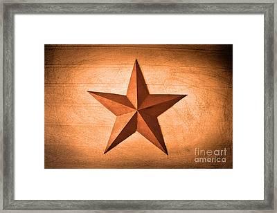 Lone Star Framed Print by Ray Shrewsberry