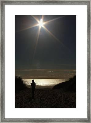Lone Star Framed Print by Sean Wareing