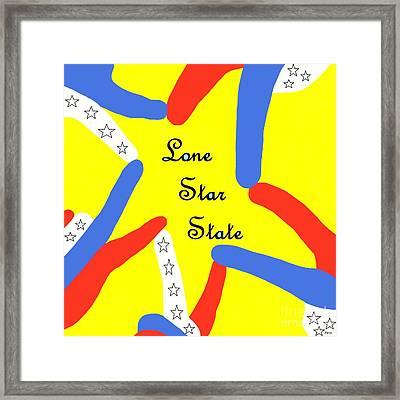 Lone Star State Framed Print
