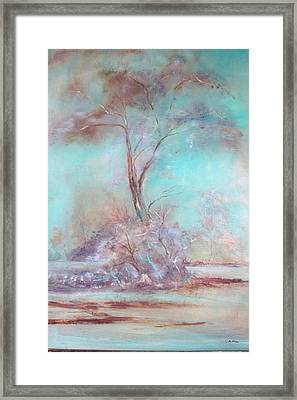 Lone Tree Framed Print by Lynda McDonald