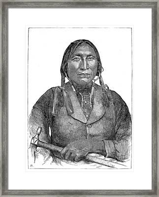 Lone Wolf, C1850 Framed Print by Granger