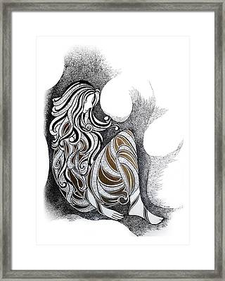 Loneliness Framed Print by Alpana Lele