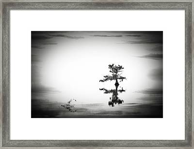 Framed Print featuring the photograph Loneliness by Eduard Moldoveanu