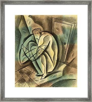 Loneliness Framed Print by Leon Zernitsky