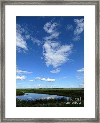Lonely As A Cloud Framed Print