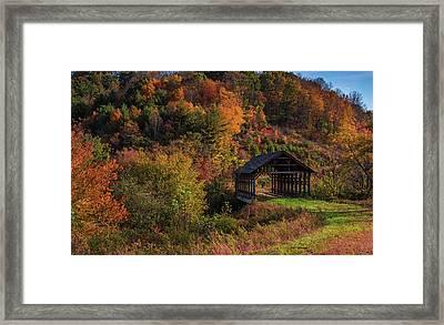 Lonely Bridge Framed Print