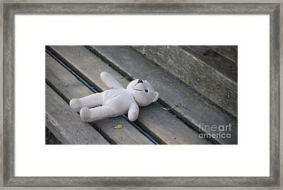 Lonely But Happy Framed Print