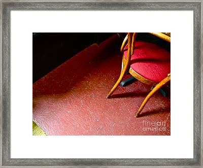 Lonely Chair Framed Print by Chuck Taylor