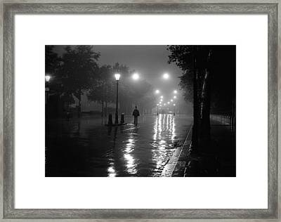 Lonely Copper Framed Print