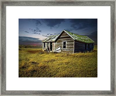 Lonely House Framed Print