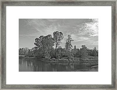 lonely Island Framed Print by M Ryan