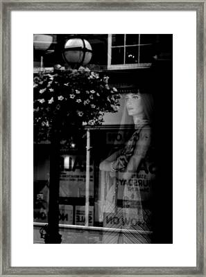 Lonely Lonely Framed Print by Jez C Self