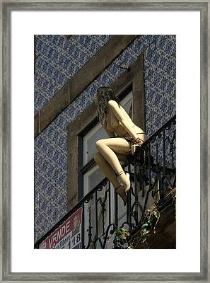 Lonely Framed Print by Michael Cinnamond