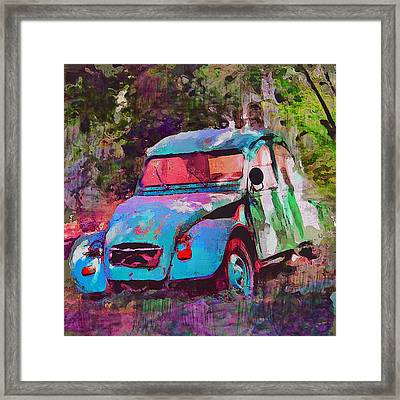 Lonely Old Car Framed Print by Yury Malkov