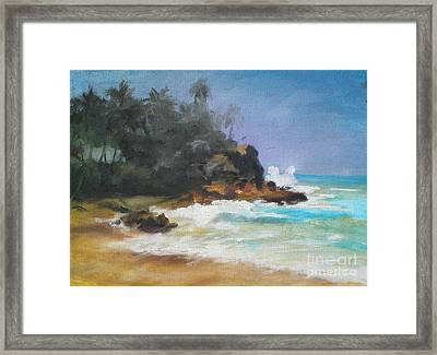Lonely Sea Framed Print