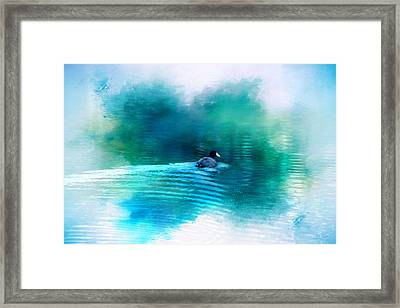 Lonely Without You Framed Print