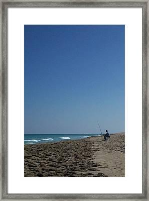 Loner Framed Print by Karen Thompson