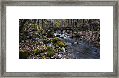 Lonesome Bridge Framed Print