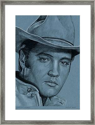 Lonesome Cowboy Framed Print