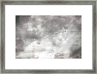 Framed Print featuring the painting Lonesome Dove by Gray  Artus