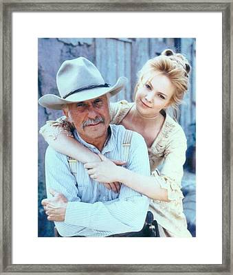 Lonesome Dove Gus And Lori Framed Print by Peter Nowell