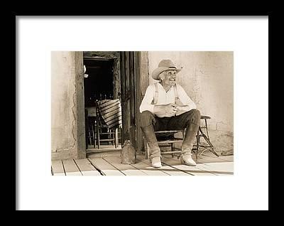 Old West Framed Prints